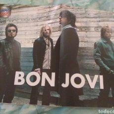 Coleccionismo de carteles: BON JOVI PÓSTER (HEAVY ROCK). Lote 160539646