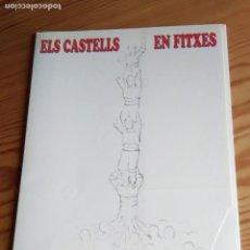 Coleccionismo de carteles: ELS CASTELLS EN FITXES. Lote 160821298