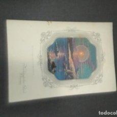 Coleccionismo de carteles: CARTEL DE COMIDA DE UN CRUCERO AÑO 1930. Lote 160882162