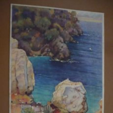 Coleccionismo de carteles: CARTEL CEREGUMIL FERNANDEZ MALAGA. Lote 160941790