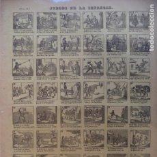 Colecionismo de cartazes: AUCA ALELUYA JUEGOS DE LA INFANCIANº 64 DESPACHO CALLE DE JUANELO . Lote 162559178