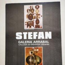 Coleccionismo de carteles: STEFAN VON REISWITZ, CARTEL ORIGINAL EXPOSICIÓN 1975, MEDIDAS 45X32CM. Lote 164691838