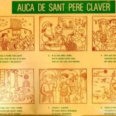 Coleccionismo de carteles: AUCA DE SANT PERE CLAVER - PILARIN BAYÉS / CLIMENT FORNER (VERDÚ, 1980). Lote 164895114