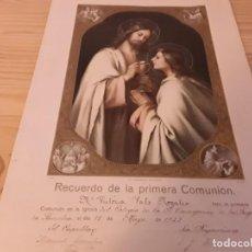 Coleccionismo de carteles: ANTIGUA LÁMINA 1923. Lote 166020834