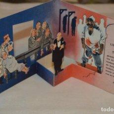 Coleccionismo de carteles: CARTEL POP UP CÓMIC - 2ª GUERRA MUNDIAL, STALIN, CHURCHILL Y ROOSEVELT - CARTA ATLÁNTICO 1941 ¡MIRA!. Lote 166196414