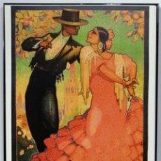 Coleccionismo de carteles: CARTEL FIESTAS DE PRIMAVERA SEMANA SANTA Y FERIA SEVILLA, 1928. 41X31 CM. Lote 166541206