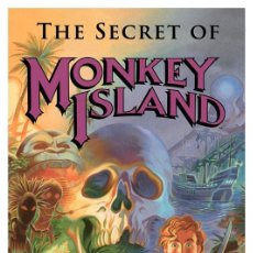 Coleccionismo de carteles: THE SECRET OF MONKEY ISLAND . LÁMINA CARTEL POSTER. 45 X 32 CMS.. Lote 228065860