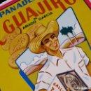 Coleccionismo de carteles: PANADERIA EL GUAJIRO, GALLETAS TATO. CUBA. Lote 168732484