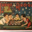 Coleccionismo de carteles: AJEDREZ. LAMINA JUEGO DE AJEDREZ. ILUSTRA A. CAROT MEDIDAS: 25 X 19 CM., (H.1940?). Lote 168841402
