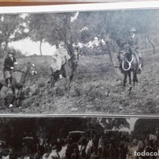 Coleccionismo de carteles: ALFONSO XIII MORATALLA CORDOBA CACERIA REGIA SIERRA CAZA HOJA AÑO 1924. Lote 169997060