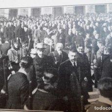 Coleccionismo de carteles: ALFONSO XIII MADRID BENDICION Y ENTREGA BANDERA SOMATEN 2 HOJAS AÑO 1924. Lote 169999088