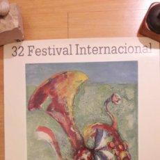 Coleccionismo de carteles: CARTEL FESTIVAL INTERNACIONAL DE SANTANDER 1983. Lote 170980862