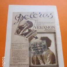 Coleccionismo de carteles: PUBLICIDAD AÑO 1929 - COLECCION MEDICINAS - VERAMON . Lote 171172443