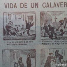 Coleccionismo de carteles: AUCA ALELUYA VIDA DE UN CALAV ERA Nº 80 SUCESORES DE HERNANDO. Lote 171486395
