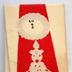 Coleccionismo de carteles: FELICITACIÓN DE NAVIDAD - 1961 - HECHA ARTESANALMENTE.. Lote 171746460