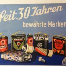 Collectionnisme d'affiches: PILA ALCALINA, OSKAR BOTTCHER BERLIN AÑOS 30. Lote 172278222