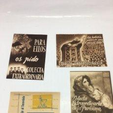 Coleccionismo de carteles: FOLLETOS COLECTA EXTRAORDINARIA, SEMINARIO METROPOLITANO VALENCIA. Lote 172777190