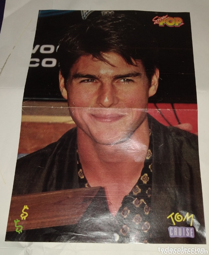 Coleccionismo de carteles: Poster Tom Cruise - A-ha. Super pop - Foto 1 - 172848045