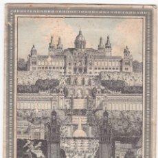 Coleccionismo de carteles: CARTEL TRIPTICO - EXPOSICION INTERNACIONAL BARCELONA 1929 - RIEUSSET. Lote 172883305