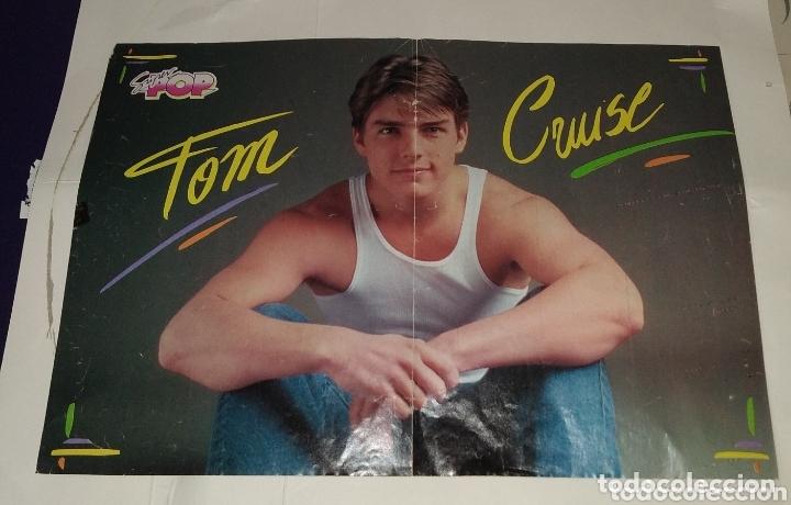 POSTER TOM CRUISE - RALPH MACCIO. SUPER POP (Coleccionismo - Carteles Pequeño Formato)
