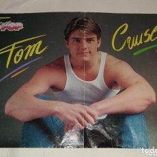 Coleccionismo de carteles: POSTER TOM CRUISE - RALPH MACCIO. SUPER POP. Lote 172910670