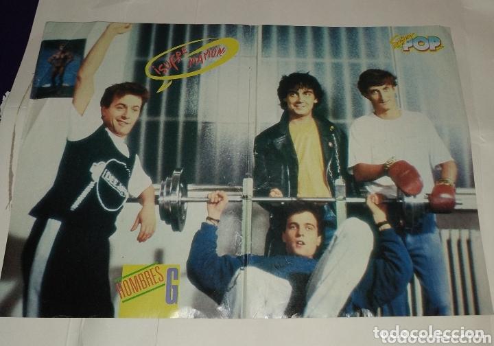 Coleccionismo de carteles: Poster Joey Tempest - Hombres G. Super pop - Foto 2 - 172948815