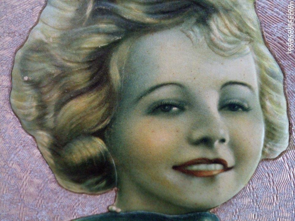 Coleccionismo de carteles: Cartel modernista publicidad chocolate Eduardo Pi en carton duro con mucho relieve troquelado - Foto 4 - 173086109