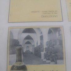 Colecionismo de cartazes: JEREZ QUINA LA PRAVIANA AGAPITO ALADRO JEREZ DE LA FRONTERA COSECHERO VINOS HOJA PUBLICIDAD AÑO 1920. Lote 173944139