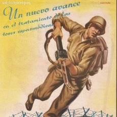 Coleccionismo de carteles: PUBLICIDAD TONOBRON GOTAS, LABORATORIOS LABEN. Lote 175844427