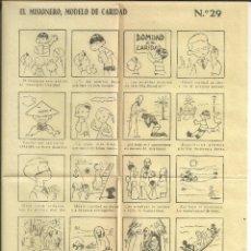 Coleccionismo de carteles: AUCA *EL DOMUND DE LA CARIDAD* - Nº 29 - RUIZ DE LA PRADA. Lote 176087337
