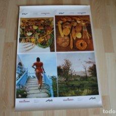 Coleccionismo de carteles: POSTER CON 4 LAMINAS TORRAS DOMENECH . Lote 176487335
