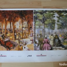 Coleccionismo de carteles: POSTER CON DOS LAMINAS TORRAS DOMENECH MONTPER. Lote 176487459