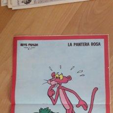 Coleccionismo de carteles: CARTEL A3 GENTE MENUDA. AÑOS 70. LA PANTERA ROSA. Lote 176913660
