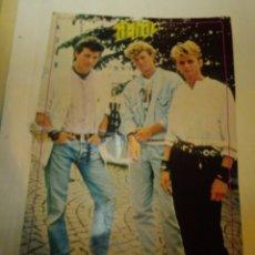 Coleccionismo de carteles: POSTER A-HA. SUPER POP. Lote 177209770