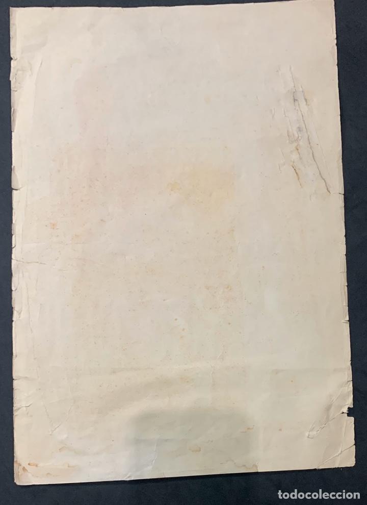 Coleccionismo de carteles: Cartel litografía Fallas de Valencia 1930 original - Foto 5 - 178060758