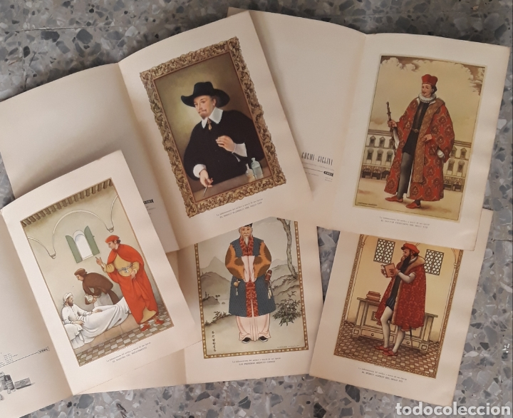 LA INDUMENTARIA DEL MÉDICO A TRAVÉS DE SU ÉPOCA (Coleccionismo - Carteles Pequeño Formato)