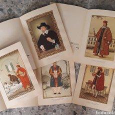 Coleccionismo de carteles: LA INDUMENTARIA DEL MÉDICO A TRAVÉS DE SU ÉPOCA. Lote 179146803