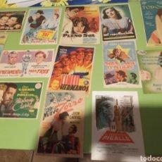 Coleccionismo de carteles: PROGRAMA DE CINE. Lote 179338702