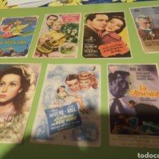 Coleccionismo de carteles: PROGRAMA DE CINE. Lote 179338962