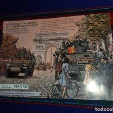 Coleccionismo de carteles: CARTEL INAUGURACIÓN DEL JARDÍN DE LOS COMBATIENTES DE LA NUEVE. REPÚBLICA ESPAÑOLA. MANUELA CARMENA.. Lote 180079641