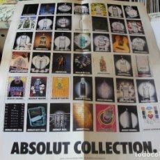 Coleccionismo de carteles: POSTER CARTEL VODKA ABSOLUT - 1998 - 55 X 42 CMS - ENVIO GRATIS. Lote 180349543