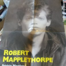 Coleccionismo de carteles: POSTER PUBLICITARIO BIOGRAFIA ROBERT MAPPLETHORPE - CIRCE 1996 - 60 X 40 CMS - ENVIO GRATIS. Lote 180350576