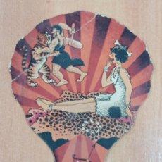 Coleccionismo de carteles: PAY PAY PUBLICITARIO. CALZADOS AGUDO AGUDO. CIUDAD REAL. Lote 182752616
