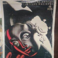 Coleccionismo de carteles: CARTEL DE FALLAS 1957 MANUEL COTANDA.. Lote 183250987