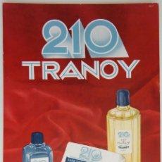 Coleccionismo de carteles: CARTEL DE MESA / 210 TRANOY. Lote 183454577