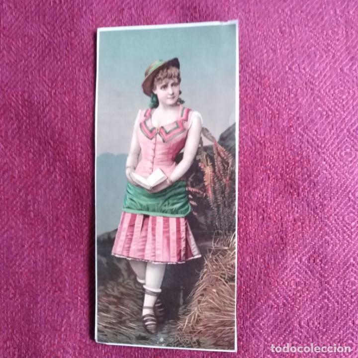 ANTIGUO CARTEL, SIGLO XIX (Coleccionismo - Carteles Pequeño Formato)