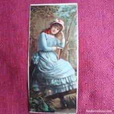 Coleccionismo de carteles: ANTIGUO CARTEL , SIGLO XIX. Lote 183696192