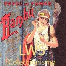Coleccionismo de carteles: CARTELES PUBLICITARIOS TABACO PUBLICIDAD IMÁGENES CIGARROS PAPEL DE FUMAR MECHEROS CIGARRILLOS. Lote 184050563