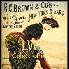 Coleccionismo de carteles: CARTELES PUBLICITARIOS TABACO PUBLICIDAD IMÁGENES CIGARROS PAPEL DE FUMAR MECHEROS CIGARRILLOS. Lote 184051350