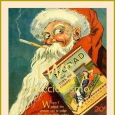 Coleccionismo de carteles: CARTELES PUBLICITARIOS TABACO PUBLICIDAD IMÁGENES CIGARROS PAPEL DE FUMAR MECHEROS CIGARRILLOS. Lote 184051368